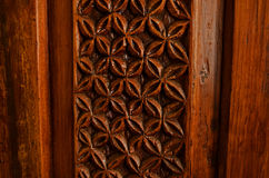 Wood decoration Royalty Free Stock Image