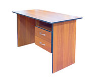 Wood desk Stock Photography