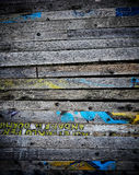 Wood dirty board Royalty Free Stock Images