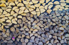 Wood block background Royalty Free Stock Photos