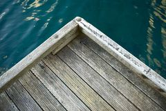 Wood Dock Stock Photography