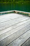 Wood Dock on the Lake Royalty Free Stock Photo