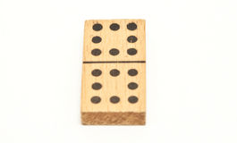 Wood Domino Stock Photo