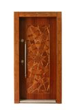 Wood door Stock Image