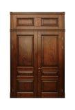 Wood Door. Nice and perfect wooden door Stock Photo
