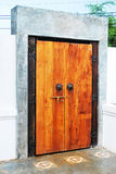 The wood door Royalty Free Stock Photo