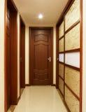 Wood door stock images