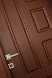 Wood door Stock Images