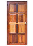 Wood door Stock Image