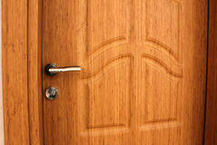 Wood door Stock Photos