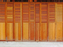 Wood door Royalty Free Stock Photo