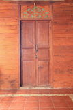 Wood door Royalty Free Stock Photos