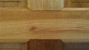 Wood door detail Royalty Free Stock Photography