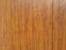 Wood door details. Details of polished wood wall Stock Photo