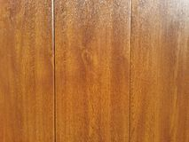 Wood door details. Details of polished wood wall Royalty Free Stock Photography