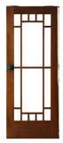 Wood door Royalty Free Stock Images
