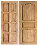 Wood door Royalty Free Stock Image