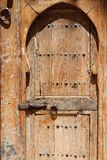 Wood door in Marrakesh Royalty Free Stock Image