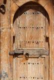 Wood door in Marrakesh Royalty Free Stock Image