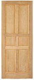 Wood door old style on white background. stock images