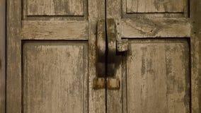 Wood door. Old Wooden door  country thai style Stock Images