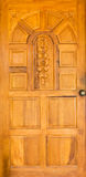 Wood door Royalty Free Stock Images