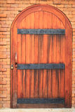 Wood door vintage style Stock Photo