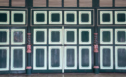 Wood door at Yogyakarta Sultanate Palace Stock Photography