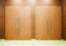 Wood doors Stock Photography