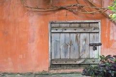 Wood doors Stock Image