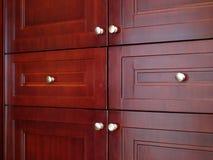 Wood drawer Stock Photos