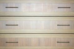 A wood dresser stock image
