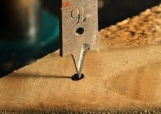Wood drill. Royalty Free Stock Photo