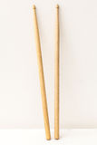 Wood Drumsticks isolated in white background Royalty Free Stock Photography