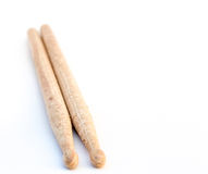 Wood Drumsticks Stock Photography