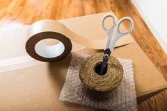 Wood durk och förbereda sig för att flytta sig Royaltyfria Foton