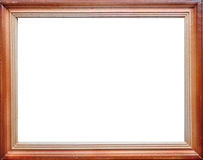 Wood Empty Frame Border. Background decoration royalty free stock image