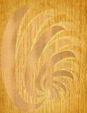 Wood etching Royalty Free Stock Image