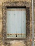 Wood fönster Arkivbild
