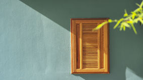 Wood fönster Arkivfoton