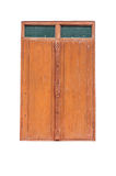 Wood fönsterisolate Arkivbild