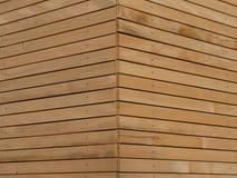 Wood façade Stock Photography