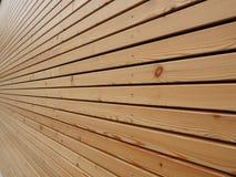 Wood façade arkivbilder
