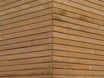 Wood façade arkivfoton