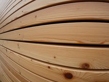 Wood façade Royalty Free Stock Photography