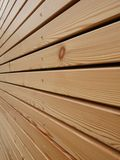 Wood façade Royalty Free Stock Images