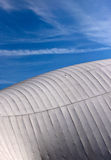 Wood and Fabric Roof Structure Royalty Free Stock Photography