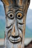 Wood Face Royalty Free Stock Photos