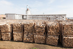 Wood factory Royalty Free Stock Photography