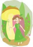 Wood fairy Royalty Free Stock Image